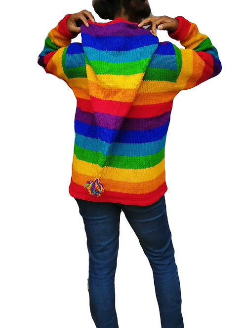 Rainbow Pixie Hood Jacket