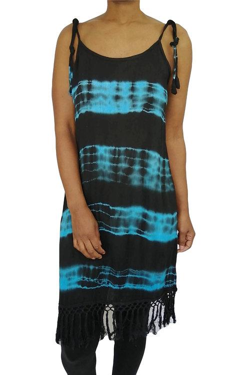 Tie Dye Slip Lace Dress (In 2 Colours)