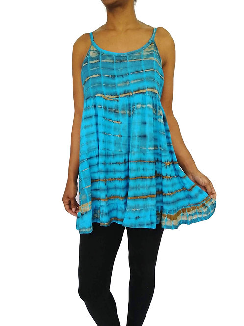 Tie Dye Baby Doll Dress (In 2 Colours)