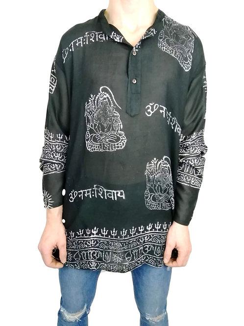 Om Print L/S Shirt