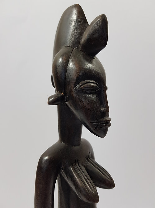 Standing Woman Statue Ivory Coast