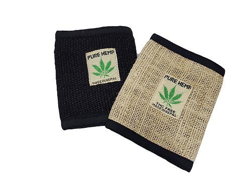 Hemp Velcro Fold Wallet
