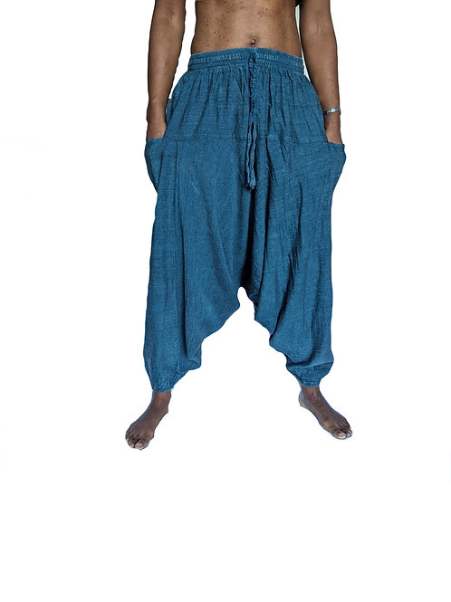 Plain Cotton Afghan/Alibaba Trousers (in 6 Colours)