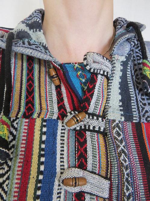 Fine Weave Patch Hoody