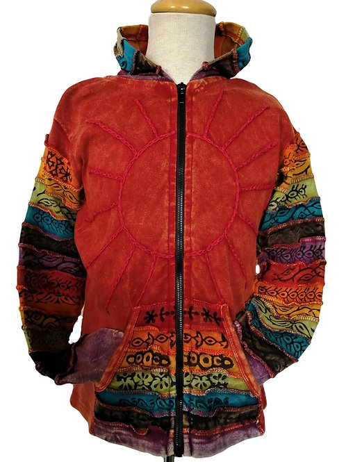 Childrens Sun Rainbow Jacket