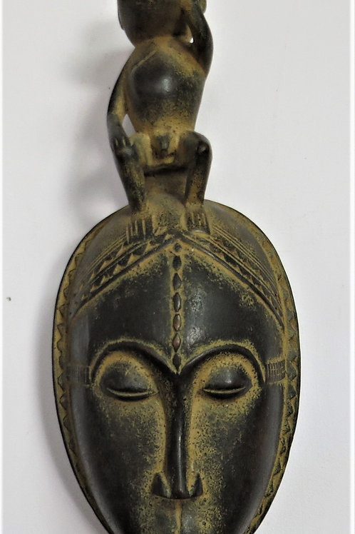 Sitting Monkey Baoule Mask Ivory Coast