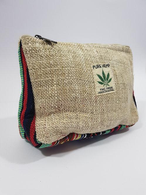 Hemp Washbag / Makeup Bag