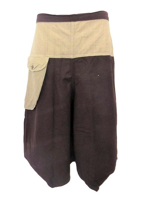 Thai Style Cotton 3/4 Shorts