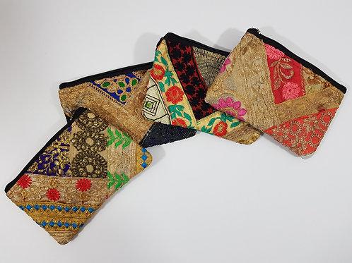 Large Embellished  Indian Purse