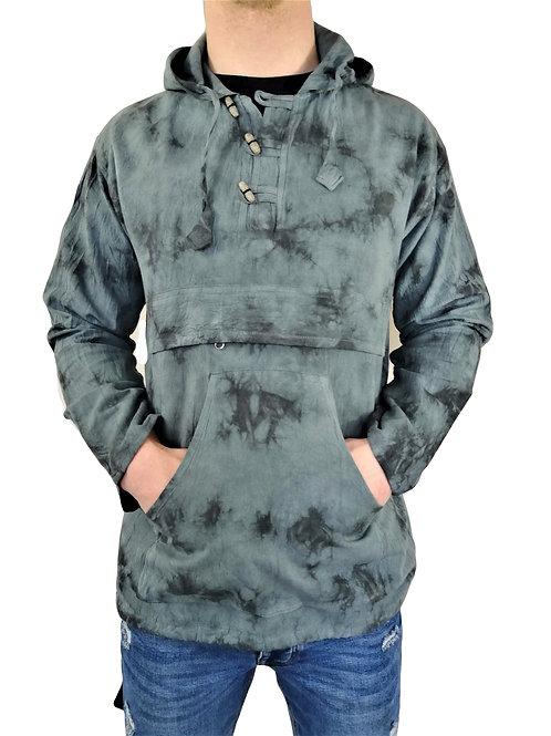 Splodge Tye Dye L/S Hoody (in 2 Colours)