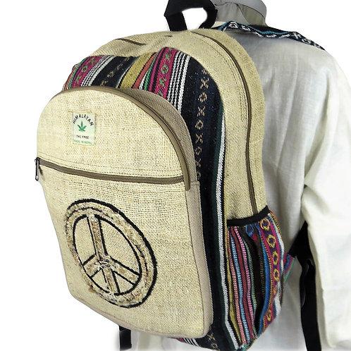 Hemp Cotton Backpack Large 6 Styles