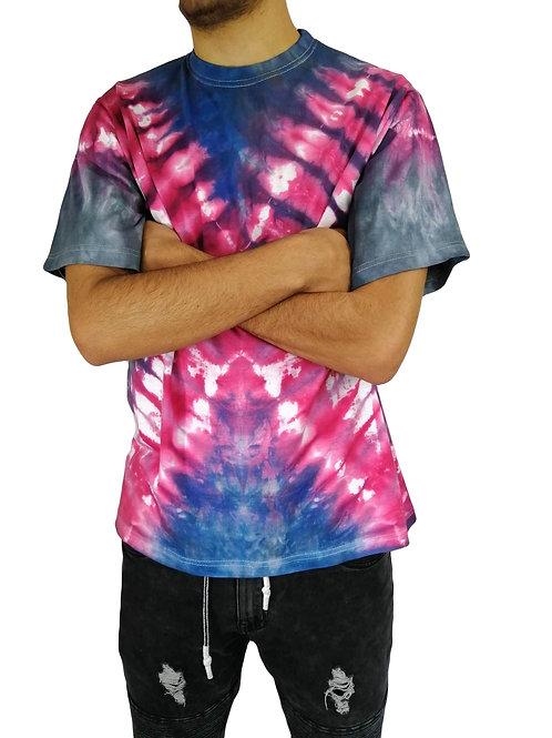 Real Men Wear Pink Tie Dye T Shirt