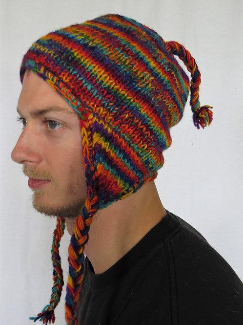 Men's Earflap Wool Hat