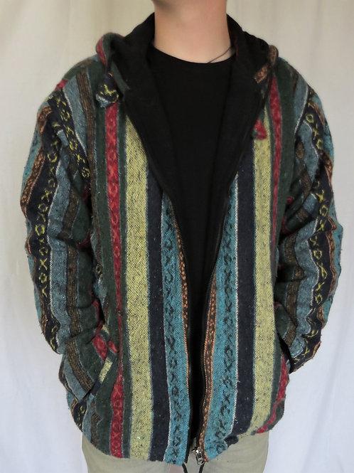 Brush Cotton Jacket Fleece Lined
