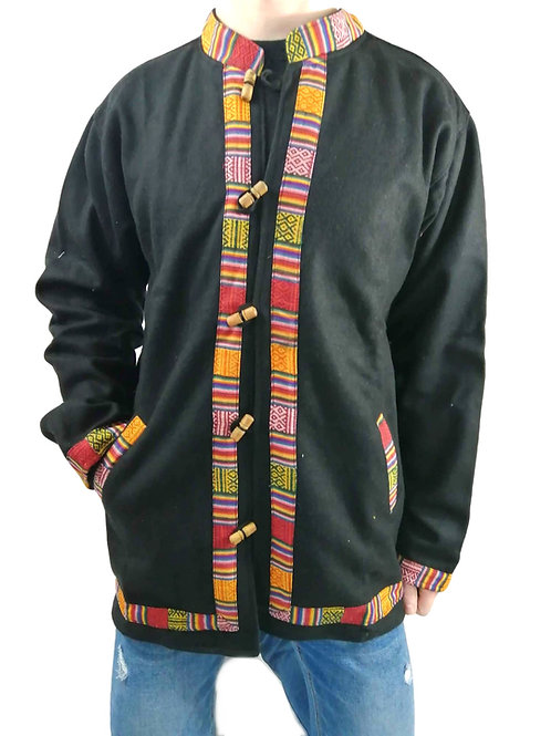 Trim Nepal Felt Wool Jacket