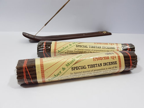 Amber and Musk Special Tibetan incense