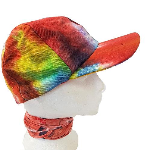 Rainbow Tie Dye Unisex Baseball Cap