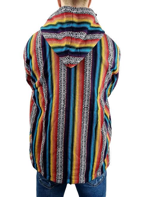Rainbow Fine Woven Cotton Jacket