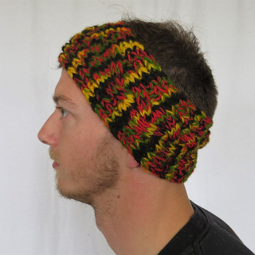 Men's Wool and Fleece Headband