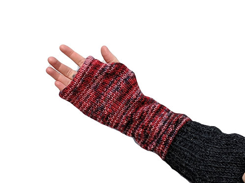 Armwarmer Mullticolour (in 3 Colours) Wool and Fleece Lined