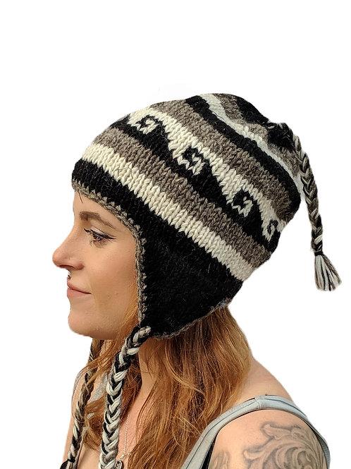 Women's Naturals Earflap Wool Hat