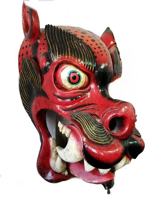 Leopard or Steppe Tiger Mask Nepal