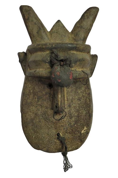2 Horns Guere Mask Ivory Coast