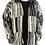 Thumbnail: Natural Brush Cotton Patchwork Jacket Fleece Lined