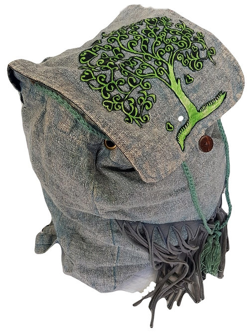 Large Pull Tie Tree of Life Backpack