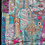 Thumbnail: Extra Large Upcycled Embroidery Turquoise/Pink Tones