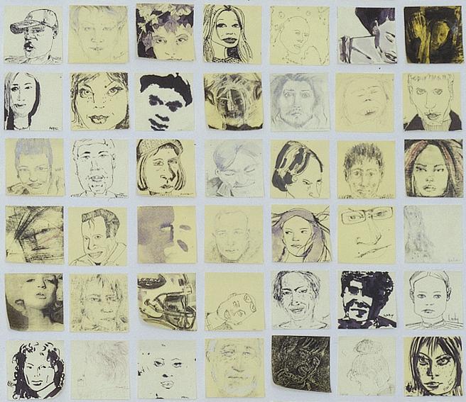 Babblers - détail- 2001