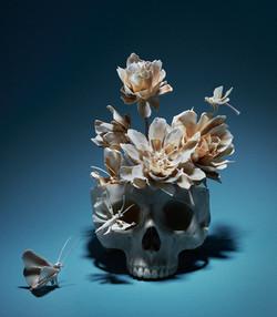 Amours éternels-Vanité aux fleurs