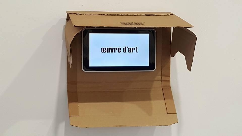 Oeuvre d'art, vidéo de 14 secondes,
