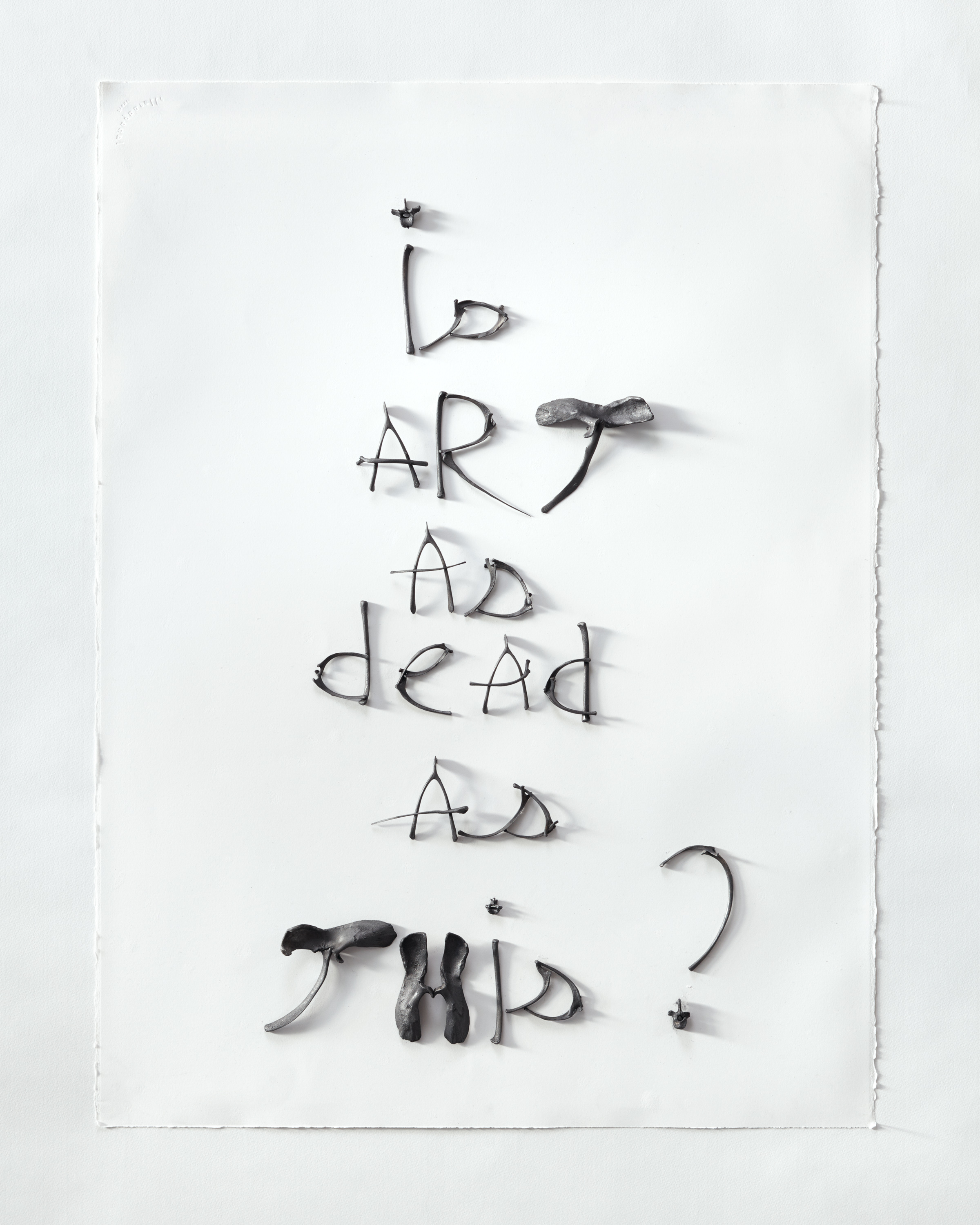 Is art as dead as this ?