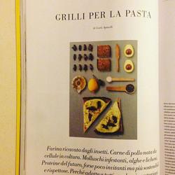 Ebbene si! Ci trovate sul _lofficielhommesitalia con una super ricetta! L'#avocadotoast con #grilli