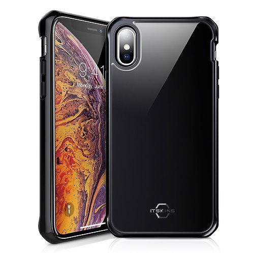 ITSKINS - Hybrid Glass Iridium Case - iPhone Xs Max