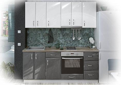 Кухня МДФ Гланц 200