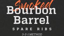 Smoke & Hammer Smoked Bourbon Barrel Spare Ribs: 3-2-1 Method