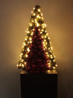 Bloemstuk decoratie kerst