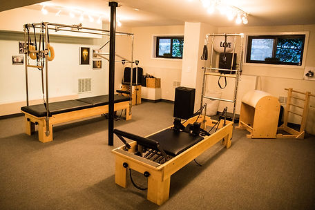 Pilates studio at www.soundMovementNY.com Larchmont, NY
