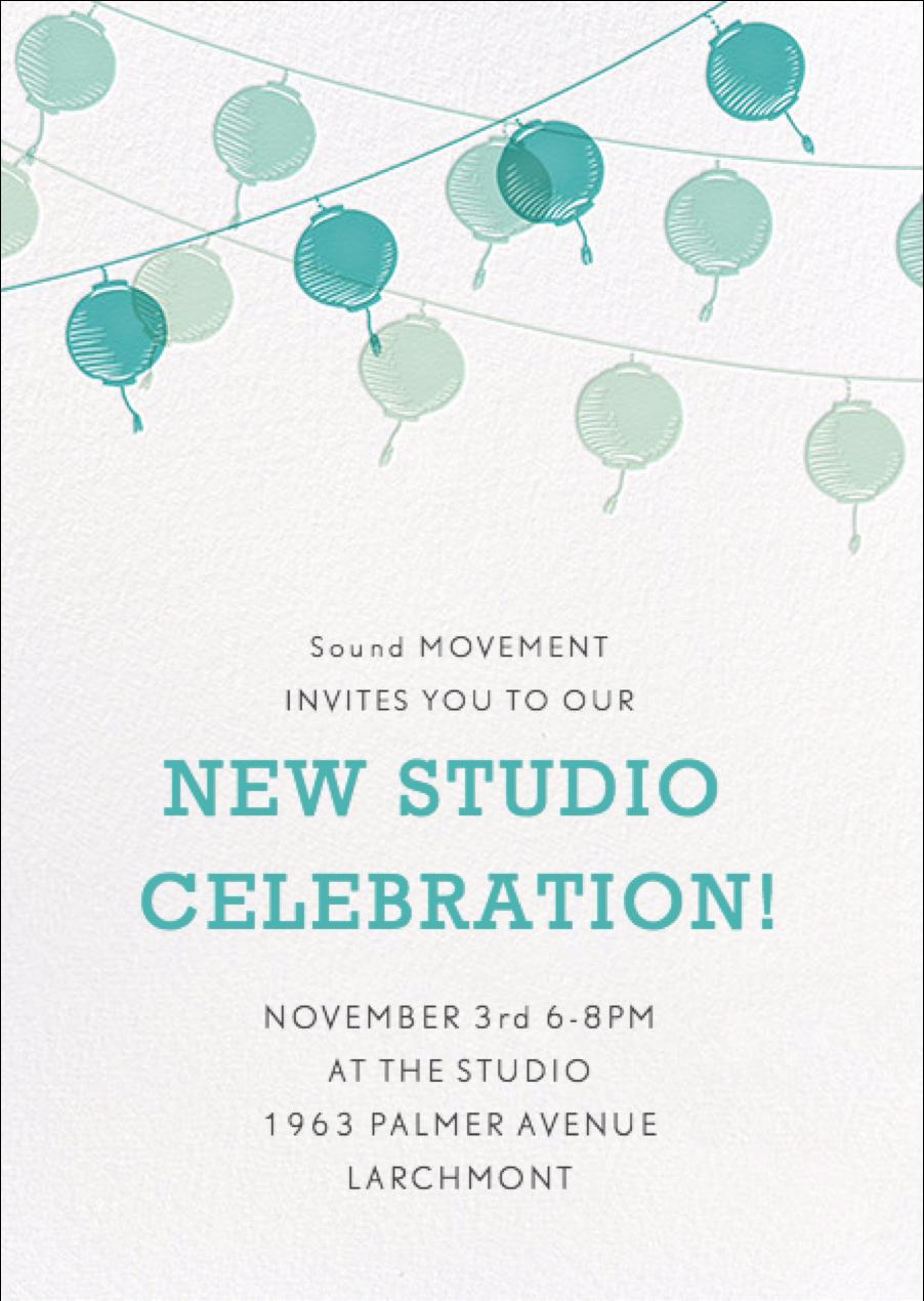 Sound MOVEMENT Celebration Party