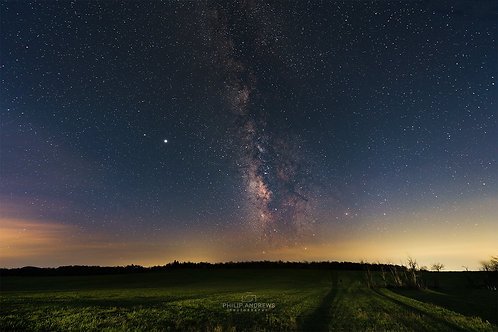 Big Sky Meadows Milky Way - Landscape