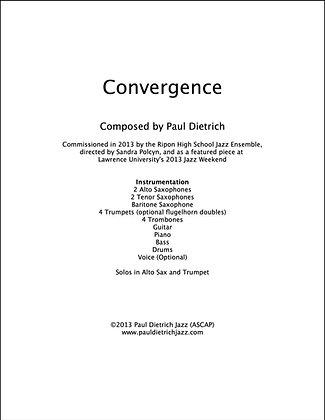 Convergence Score & Parts (PDF) - Grade 3