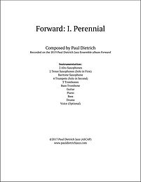 Forward: I. Perennial Score & Parts (PDF) - Grade 6