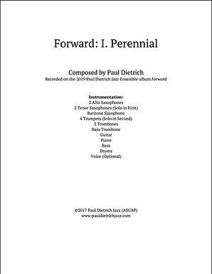 Forward: I. Perennial Score & Parts (PDF) - Grade 6