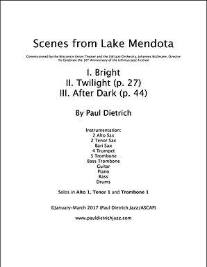 Scenes from Lake Mendota Score & Parts (PDF) - Grade 6