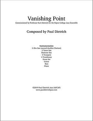 Vanishing Point Score & Parts (PDF) Grade 4