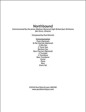 Northbound Score & Parts (PDF) - Grade 4