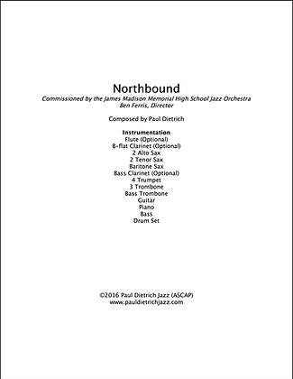 Northbound Score & Parts (PDF) - Grade 4