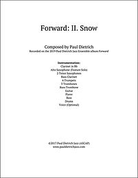 Forward: II. Snow Score and Parts (PDF) - Grade 6